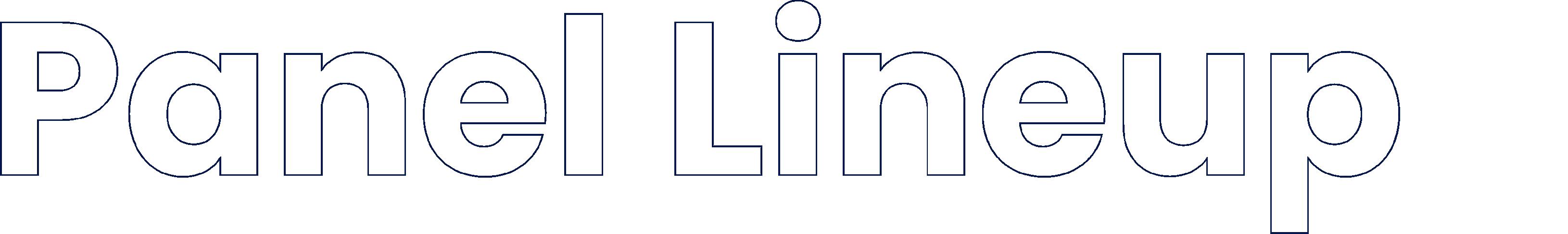 Panel Lineup